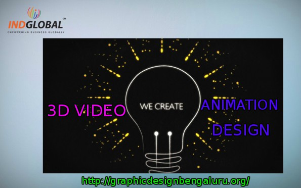 3D video animation design